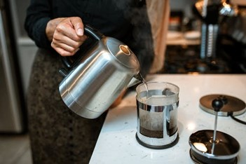 Carer Making Coffee